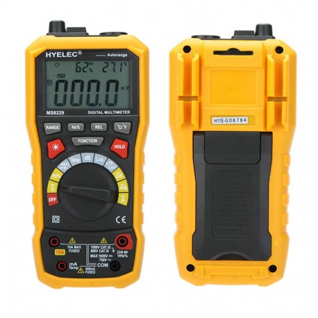 Multimètre Mastech digital 5 en 1 4000pts