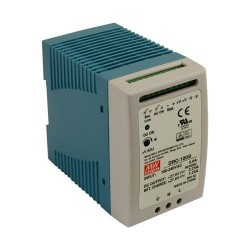 Alimentation chargeur rail-din Mean-Well 100W 90/264Vac - 27,6Vdc