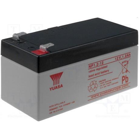 Batterie Yuasa au plomb étanche 12V 1,2Ah