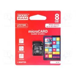 Carte mémoire Sandisk SDHC 8Gb classe 10 + adaptateur