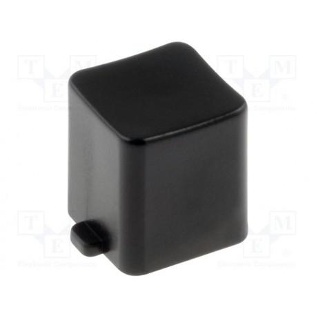Capuchon noir pour poussoir type BS800