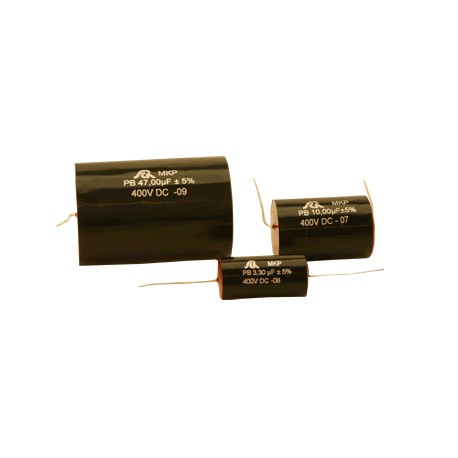 Condensateur polypropylène axial SCR MKP 1,5µF 250V 5%