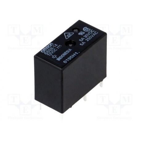Relais dil 1R/T 12Vdc 360ohms 5 Amp.