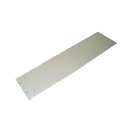 """Façade rack 19"""" épaisseur 3mm 4 unités aluminiun anodisé"""