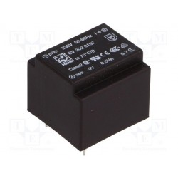 Transformateur moulé 230Vac / 9Vac 0,5VA