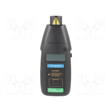 Tachymètre optique numérique 5 à 99999trm
