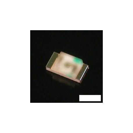 Led CMS 0805 blanc chaud 120° 450mcd 20mA 3,6V