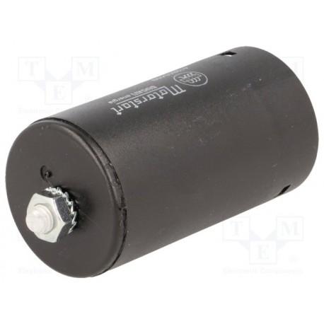 Condensateur de démarrage 100µF 250V à sorties sur cosses