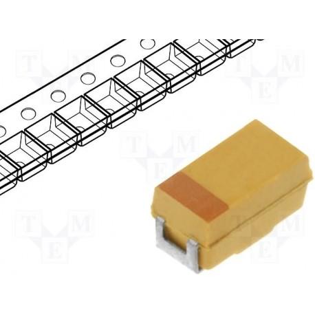 Condensateur tantale CMS 22µF 35V boitier D