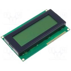 Afficheur LCD 4x20crts rétroéclairé 60x98x14,5mm
