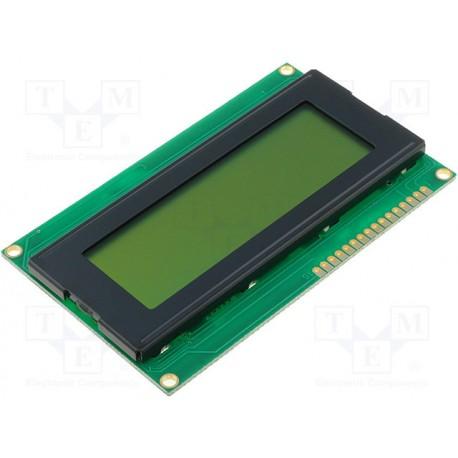 Afficheur LCD 4x20crts 60x98x14,5mm