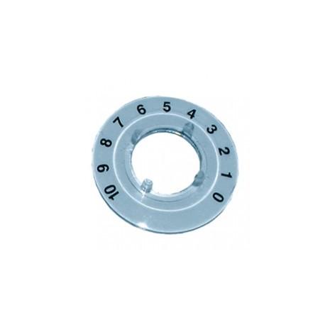 Disque numéroté 270° 0 à 10 pour bouton KN216