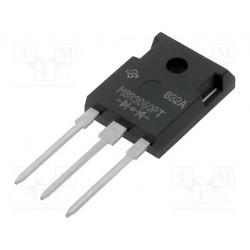 Diode schottky double cathode commune TO247 60V 30Amp. MBR3060PT