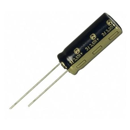 Condensateur low ESR radial 105° 2200µF 63V au pas de 7,5mm