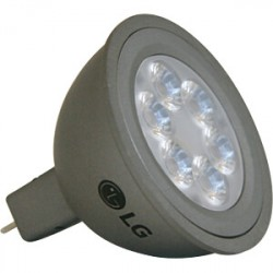 Lampe GU5.3 MR16 à led blanches 12V 6W 400lm 2700K