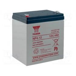 Batterie Yuasa au plomb étanche 12V 4Ah - 106x90x70mm Poids 1,7Kg