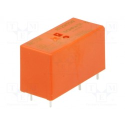 Relais type Schrack SPDT 1R/T 12Amp 230Vac 32,5Kohms