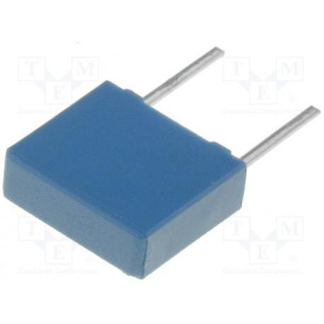 Condensateur polyester PET EPCOS 10nF ±10%, 160Vdc / 250Vac au pas de 5mm
