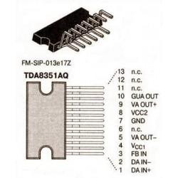 Circuit intégré multiwatt13 TDA8351AQ