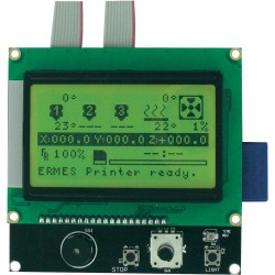 Carte extention afficheur LCD graphique 128x64
