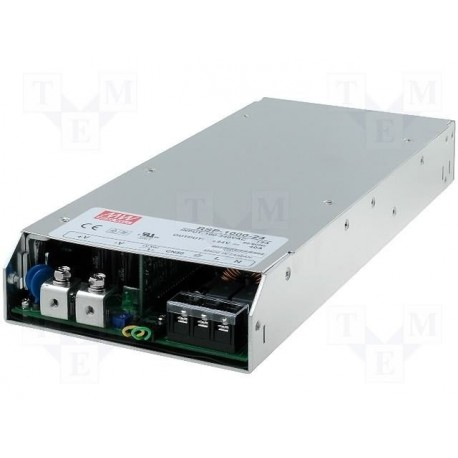 Alimentation Mean-Well série RSP 90/264Vac 1000W 24Vdc 40Amp.