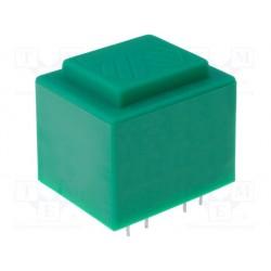 Transformateur moulé 400Vac / 12Vac 6VA 45x38x32mm