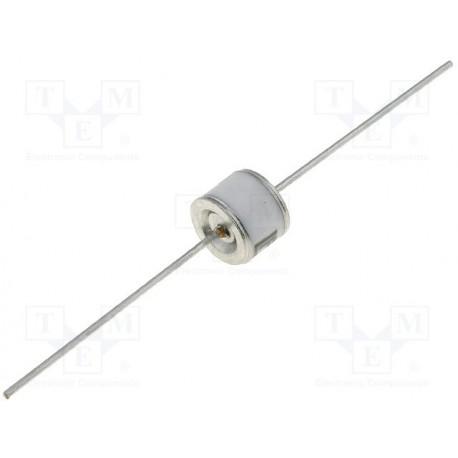 Eclateur à gaz axial 350V courant de surcharge maximal 500Amp.