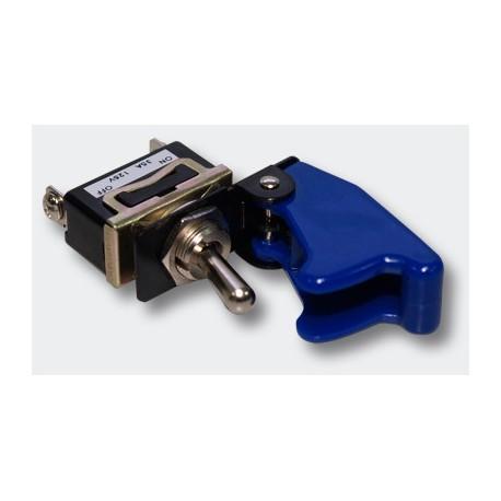 Interrupteur unipolaire à levier on /off 20amp. avec capuchon de protection