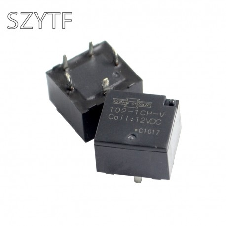 Relais Song-Chuan SPDT 12Vdc 20Amp. 225ohms