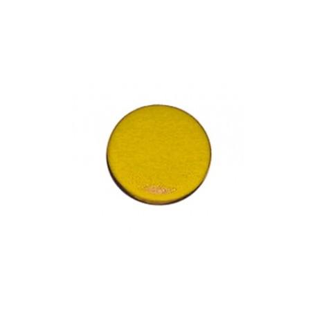Capuchon jaune pour bouton 16mm HABT166N
