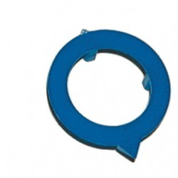 Flèche bleue pour bouton 16mm HABT166N