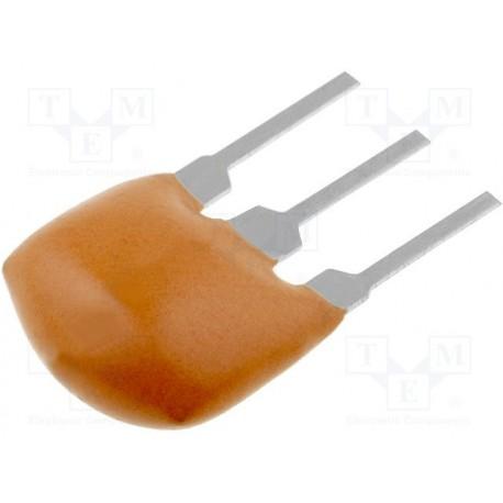 Filtre céramique 3 broches SFE10.7MS2A 10,7Mhz 230Khz - 3db