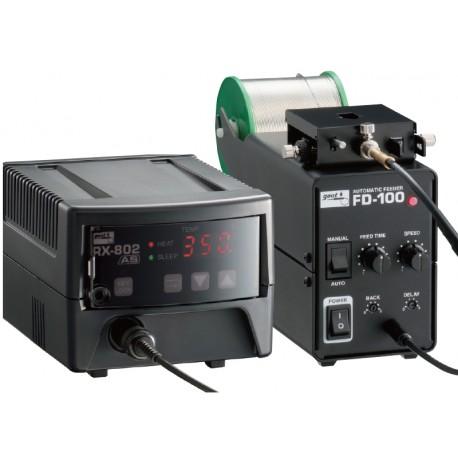 Système à amenée de soudure automatique adaptable sur station de soudage Goot