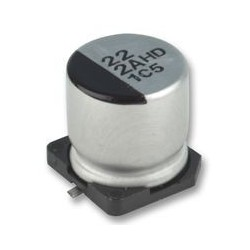 Condensateur chimique CMS 105° 3,3µF 50V Ø 4x5,3mm