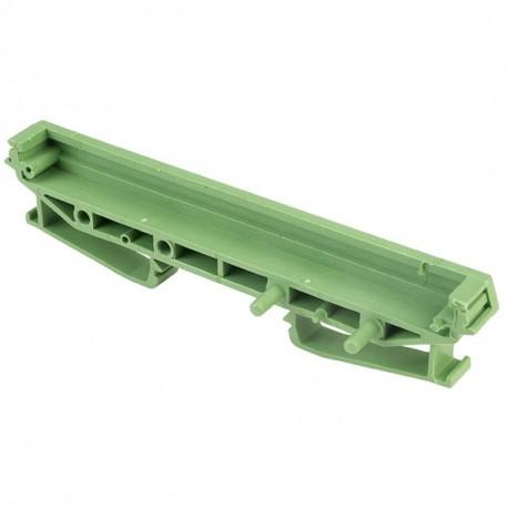 Module support 107mm pour rail din section de fin + pied largeur 11,5mm