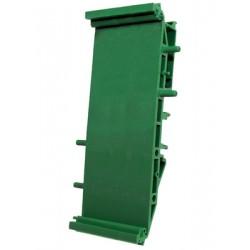 Module support 107mm pour rail din élément de base largeur 35mm
