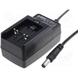 Bloc alimentation à découpage 90 à 264Vac / 18Vdc 0,83Amp. 15W régulé sortie avec jack 5,5x2,1mm