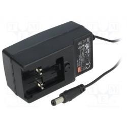 Bloc alimentation à découpage 90 à 264Vac / 18Vdc 1,66Amp. 30W régulé sortie avec jack 5,5x2,1mm