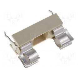 Porte-fusible 5x20 pour circuit imprimé au pas de 22mm