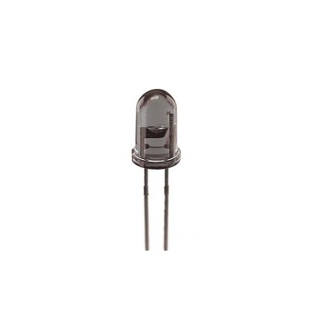 Diode émettrice infrarouge 5mm 880nm 100mA 1,7V 16° QED123