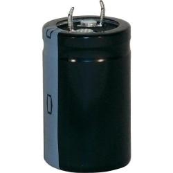 Condensateur snap-in 105° 120µF 450V Ø 22x40mm