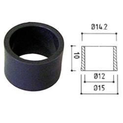 Entretoise hauteur 10mm noire pour douille de sécurité