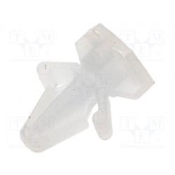 Entretoise clipsable pour circuit imprimé taraudée M3mm hauteur 5mm