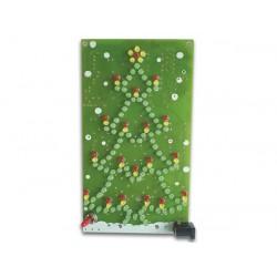 Kit Velleman Sapin de Noël clignotant à leds