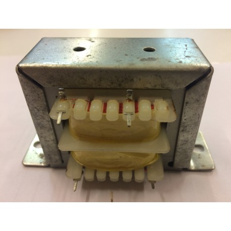 Transformateur 230Vac - 26VA 15Vac à étrier dimensions 63x50x46mm