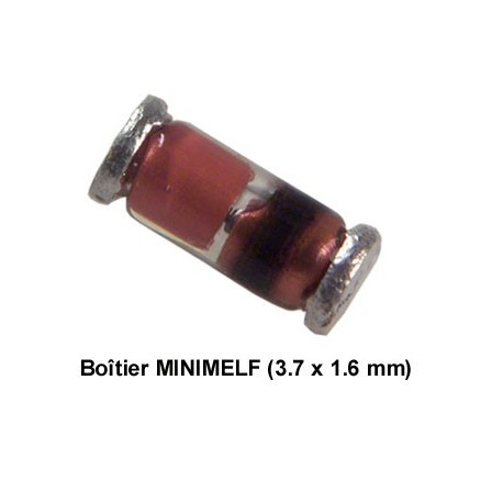 Diode zéner CMS SOD80 4,3V 500mW