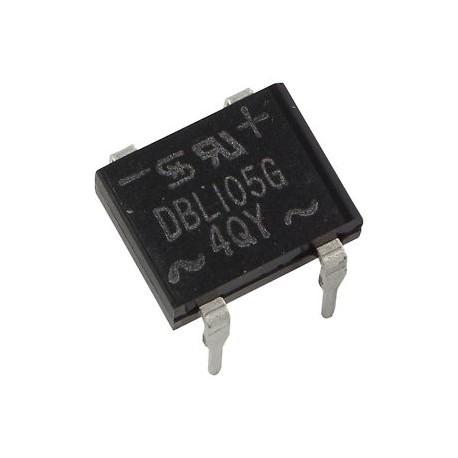 Pont de diodes boitier dil 8,5x6,5mm 1Amp. 420V