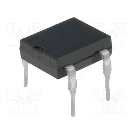 Pont de diodes boitier MBM 4,6x3,6mm 1Amp. 600V