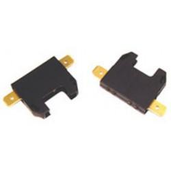 Support pour fusible type auto 19mm à cosses 6,3mm