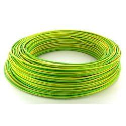 Câble de cordon silicone 1,5mm² 25Amp. jaune/vert Ø 3,5mm